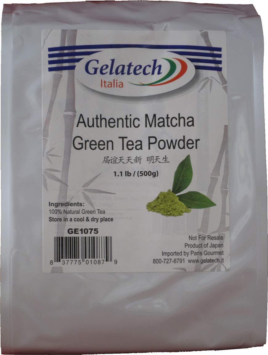 Gelatech Matcha Green Tea Powder 1.1 Lbs