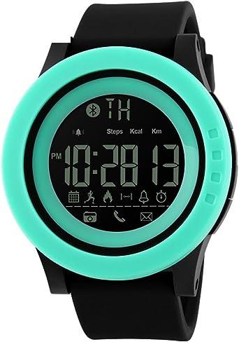 Skmei Casual Reloj Inteligente Hombres Reloj Digital Impermeable ...