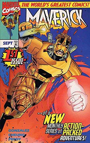 Maverick #1 VF/NM ; Marvel comic book