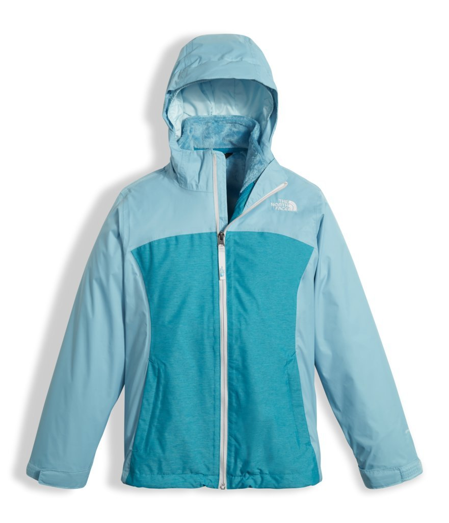 The North Face Girls Osolita Triclimate Jacket - Nimbus Blue - M by The North Face