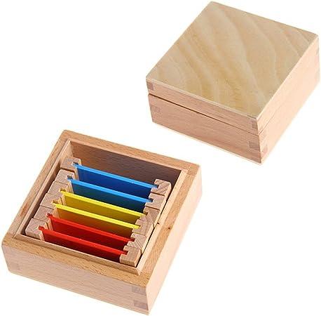 Eleganantimpresionante Montessori - Caja de Madera para tabletas con sensorial Color para Aprender a Colorear, Ideal como Regalo: Amazon.es: Hogar