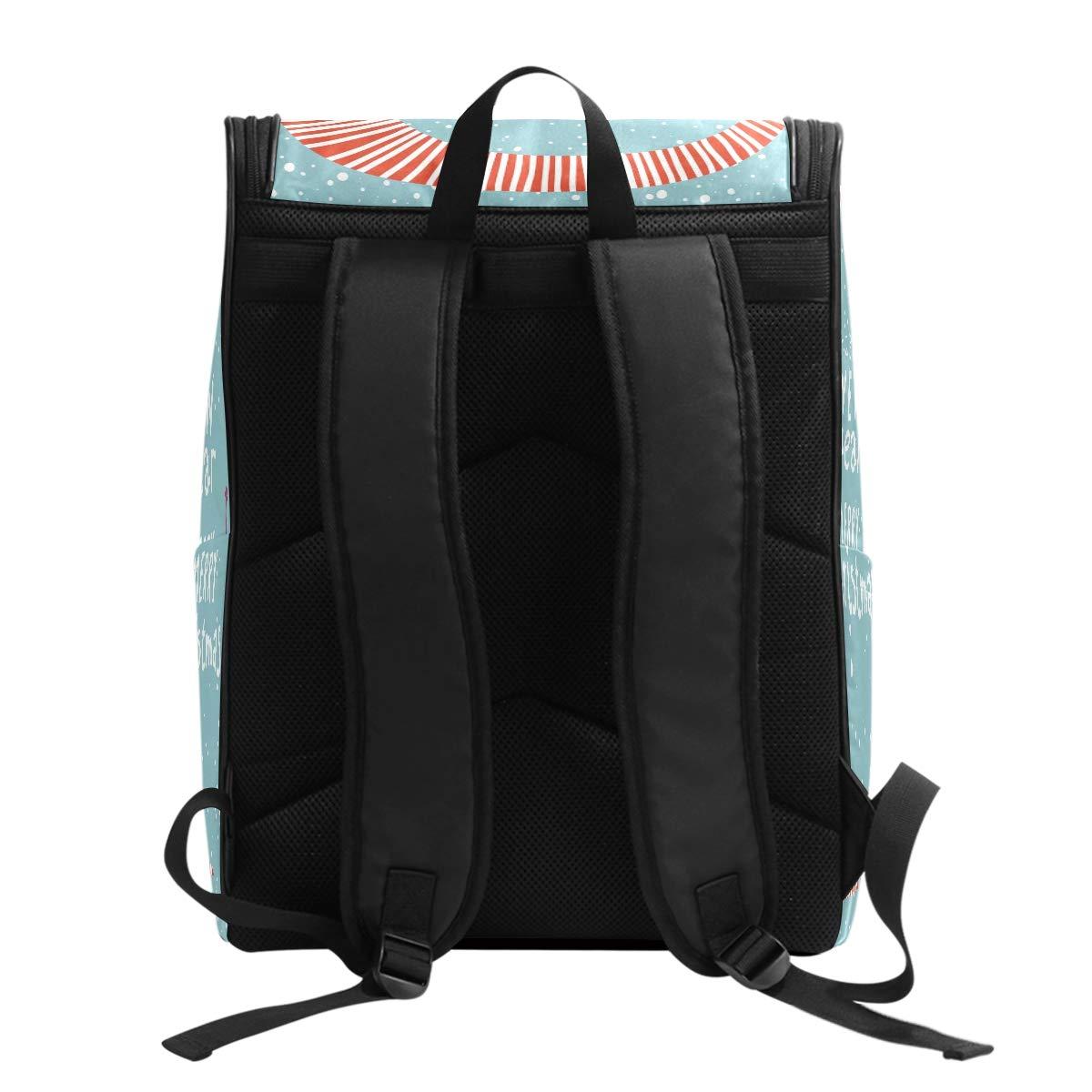 4f530b8a8328 DXG1 Backpack for Women Men Teen Girl Boy Christmas New Year Snowman ...
