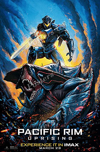 Used, PremiumPrints - Pacific Rim 2 Uprising Movie Poster for sale  Delivered anywhere in USA