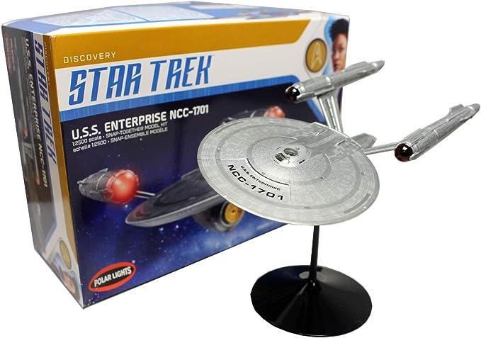 Star Trek Discovery-nave espacial metal modelo nuevo Enterprise ncc-1701