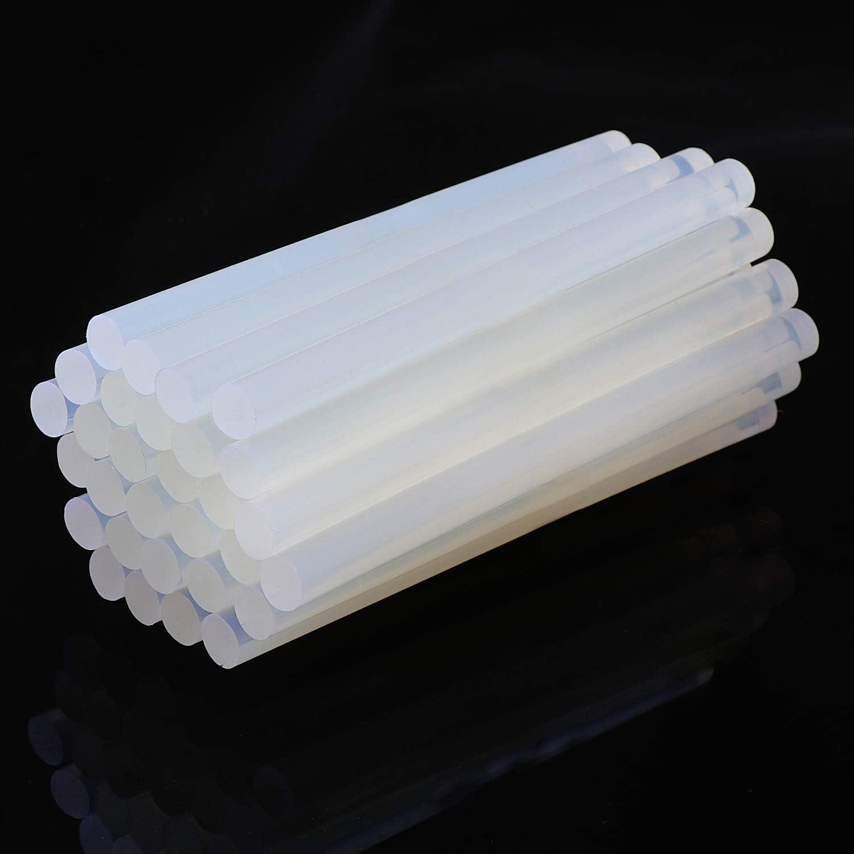 11 x 100mm Hei/ßklebe Klebesticks f/ür 60 Watt Klebepistole DIY Kunsthandwerk Coolty 50 St/ück Schmelze Klebepistole Sticks