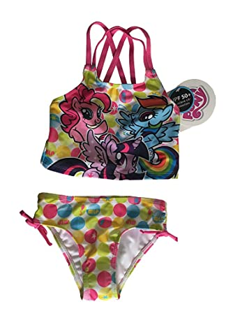 amazon com my little pony swimsuit clothing