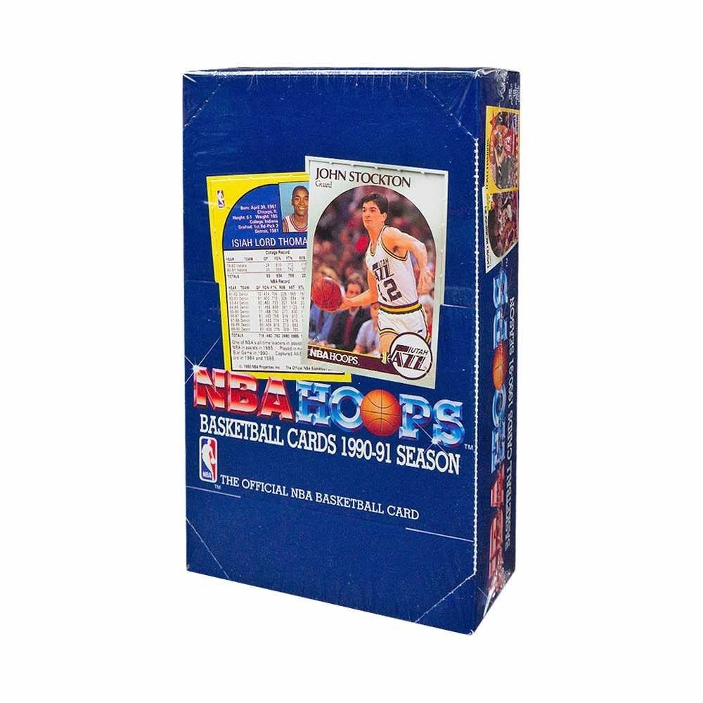 1990-91 NBA Hoops Series 1 Basketball Box