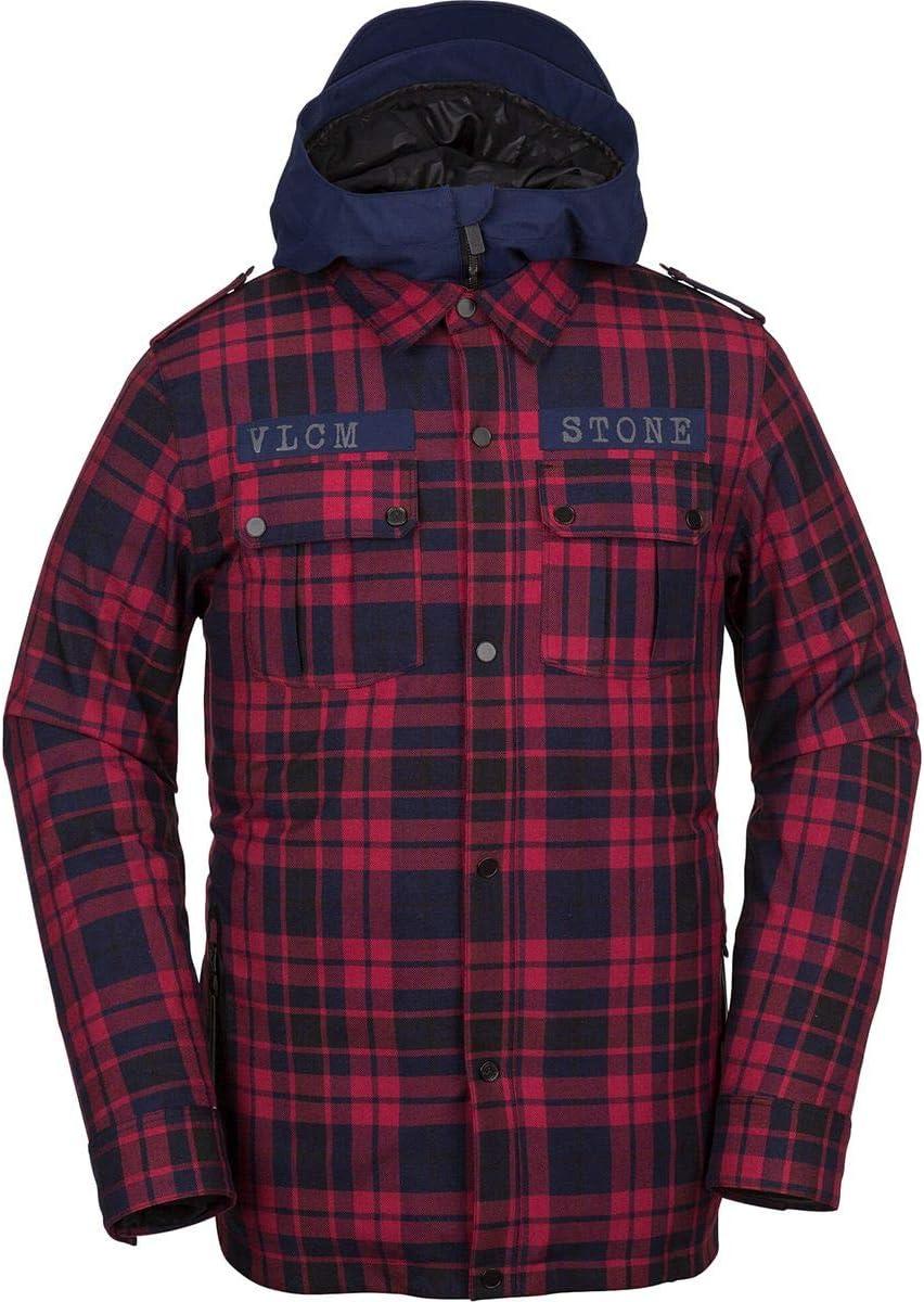 (ボルコム) Volcom Creedle2Stone Jacket メンズ スノーボード ウェア ジャケット赤 [並行輸入品] 赤 日本サイズ XL相当 (US XL)