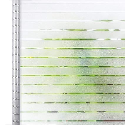 Homein Fensterfolie Streifen Sichtschutzfolie Folie Fur Fenster