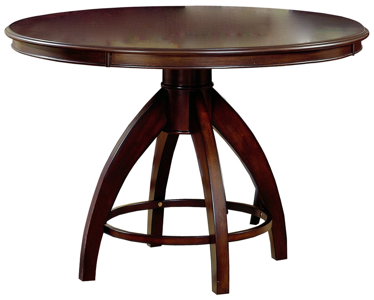 amazon com hillsdale nottingham round pedestal dining table amazon com hillsdale nottingham round pedestal dining table dark espresso tables
