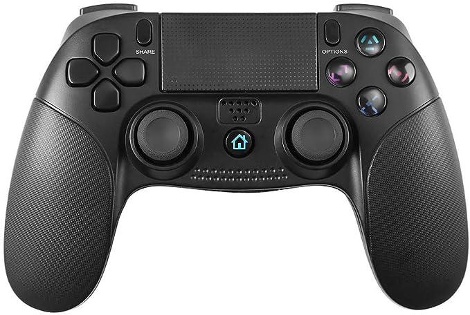 PowerLead Controlador para PS4, Gamepad inalámbrico Mando Pro para Playstation 4 y Playstation 3 Panel táctil for Joypad con Juego de vibración Dual Control Remoto: Amazon.es: Videojuegos