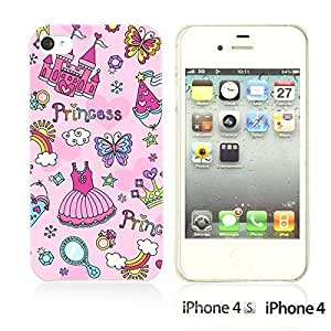Cartoon Pattern Hard Back For Ipod Touch 5 Case CoverPrincess Pattern