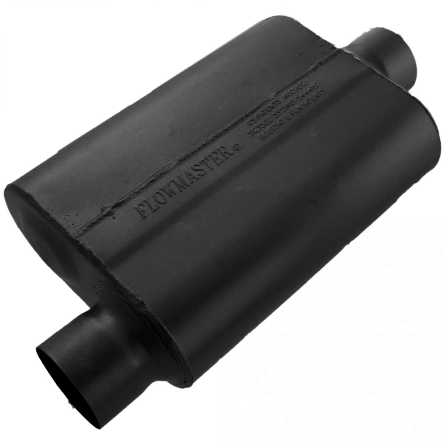 Flowmaster 43041 40 Series Muffler - 3.00 Offset IN / 3.00 Center OUT - Aggressive Sound