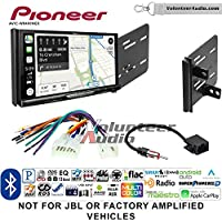 Volunteer Audio Pioneer AVIC-W8400NEX Double Din Radio Install Kit with Navigation, Apple CarPlay and Android Auto Fits 2013-2015 Scion FR-S, BR-Z