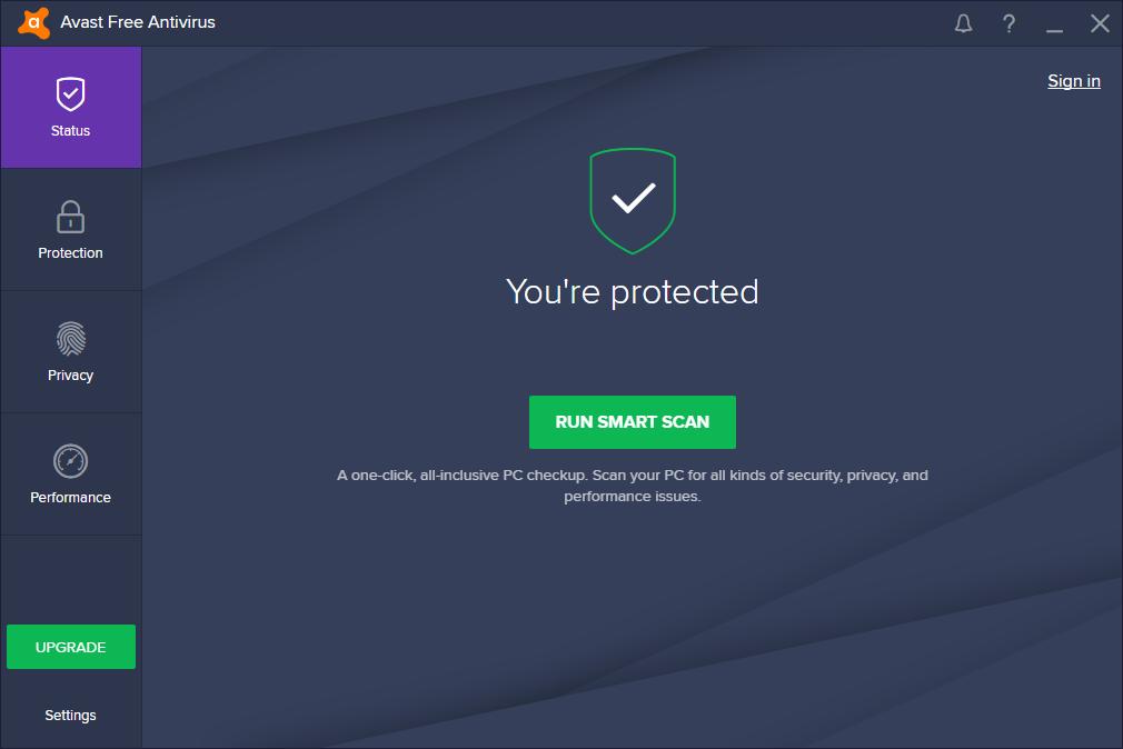 avast antivirus gratis italiano per vista