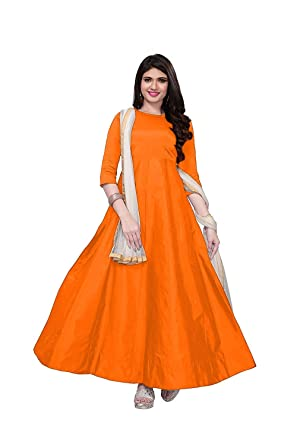 Om Sai Enterprise Long Dresses For Women Indian Wear Gown For Women