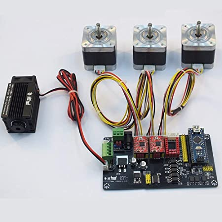 CNC Engraving Machine XYZ 3 Axis DIY USB V4 Motor Driver Controller Board Control Panel For DIY Laser Engraver