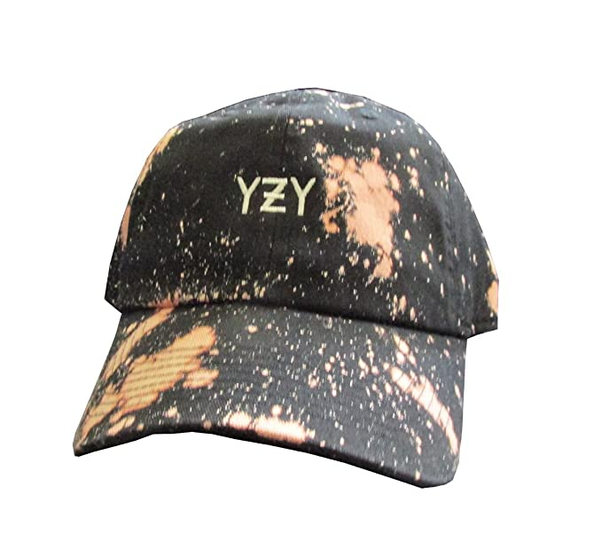 3ed000e76fa5a4 YZY Meme Acid Wash Unstructured Twill Cotton Low Profile Dad Hat Cap ...