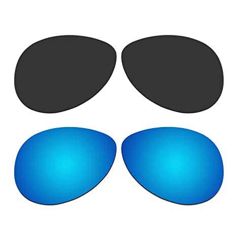 14efe435354 Image Unavailable. Image not available for. Color  ACOMPATIBLE 2 Pair Replacement  Polarized Lenses for Oakley Feedback Sunglasses OO4079 ...
