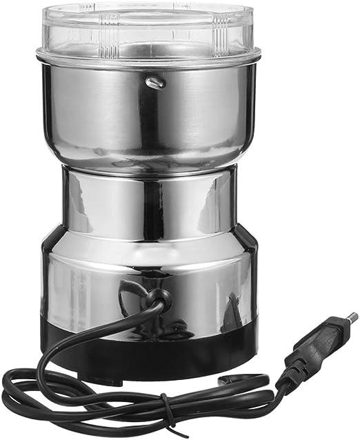 BESTOMZ Molinillo de café eléctrico de Acero Inoxidable para ...