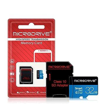 LJ1 Tarjeta de Memoria TF, Tarjeta Micro SD + Adaptador SD 8GB ...
