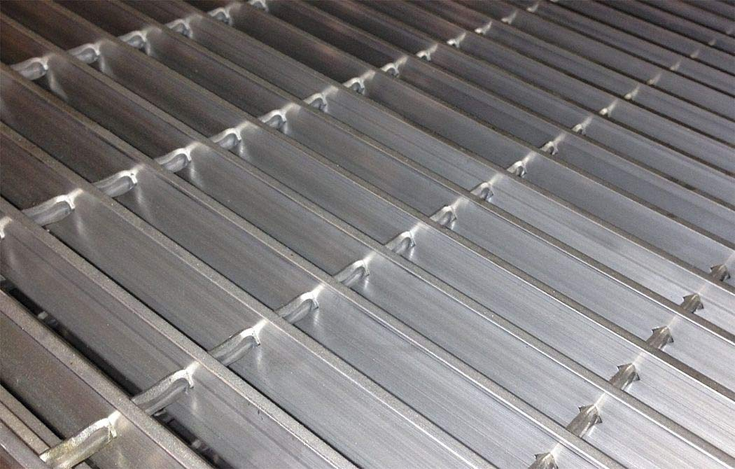 Smooth Bar Grating, 24'' Span, 36'' X 1'', Aluminum by DIRECT METALS