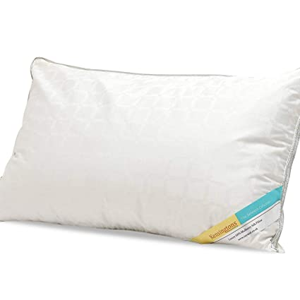 2 Pack Luxury Hotel Quality 100/% Microfibre Filled Box Pillow One Size 1 Pack
