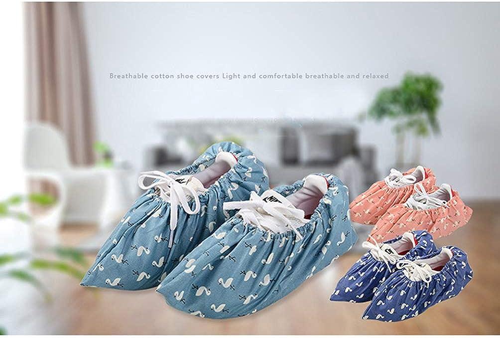 Artibetter 3 Paires de Couvre-Chaussures R/éutilisables pour Lint/érieur Chaussons de Chaussures Lavables Antid/érapantes Couvre-Chaussures de Voyage Pochette /à Chaussures Protecteur