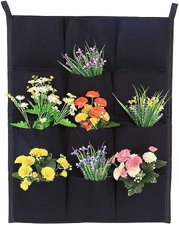 Delaman Maceteros de Plantas Colgantes de Interior Pocket Vertical ...