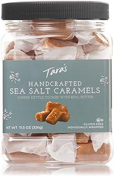 Tara's All Natural Handcrafted Gourmet Sea Salt Caramels (11.5oz)
