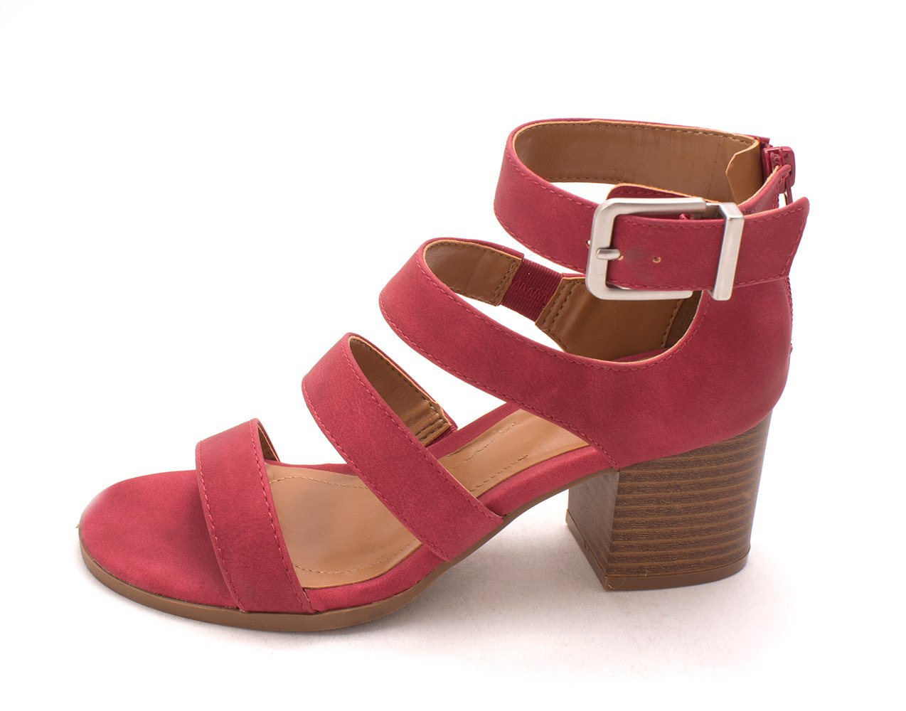 Style & Co.. Womens Naomii Open Toe Casual Strappy Sandals, Dark Cherry, Size 6.0 by Style & Co.
