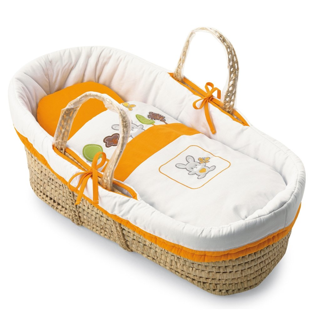 Pali 0640BOSCO05 Baby Körbe-Moses Basket Bosco - orange