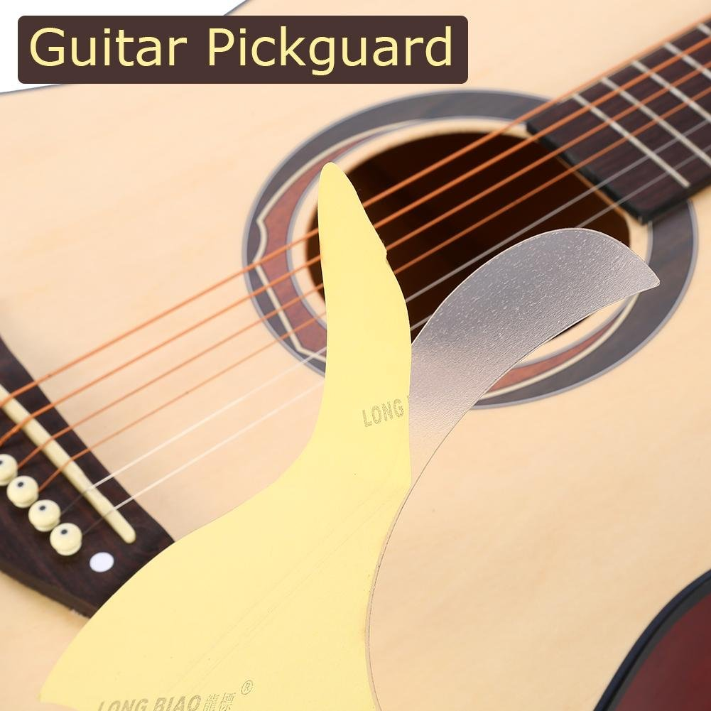 Guitarra Impacto Protección, etiqueta transparente forma de lágrima para 40/41 Folk Guitarra: Amazon.es: Instrumentos musicales