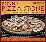 Pizzacraft PC0004 Round Ceramic Pizza Stone with