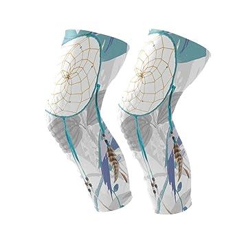 Amazon.com: Dreamcatcher - Rodillera de color turquesa con ...