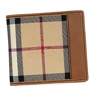 2b33837a852d Amazon   バーバリー・財布・カード6枚☆二つ折り財布-BILL COIN-3963271-チャコールチェック/ブラック [並行輸入品]    BURBERRY(バーバリー)   財布