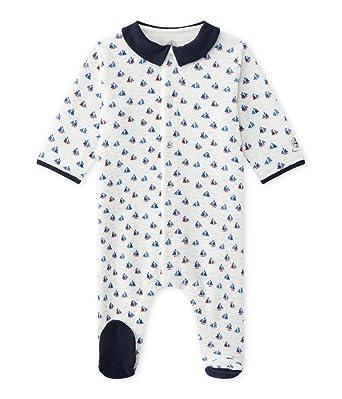 suche nach neuesten attraktive Designs neue bilder von Petit Bateau Baby-Jungen Strampler Dors Bien