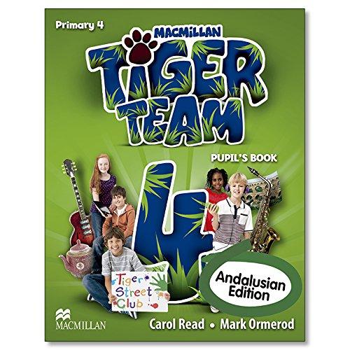 TIGER 4 Pb Andalusian - 9780230492608 Tiger Andalucia: Amazon.es ...