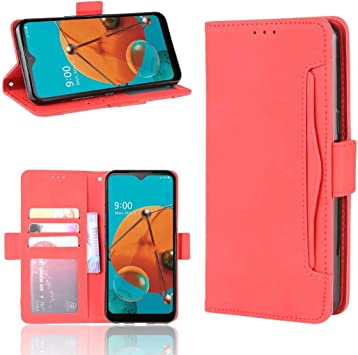 Amazon Com Lg K51 Leather Wallet Case Lg K51 Card Holder Case Red Futanwei Flip Folio Premium Pu Leather Cover Book Style Business Wallet Case With Card Holder Kickstand Phone Case For