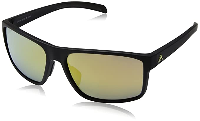 adidas Unisex-Adult Whipstart a423 6062 Non-Polarized Iridium Rectangular Sunglasses