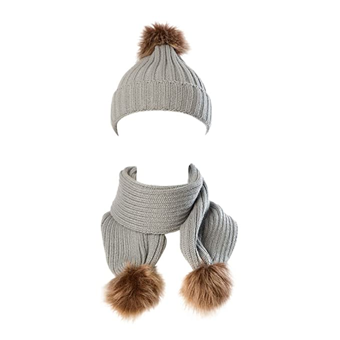 Cappello e sciarpa del bambino impostati 739447d39c0e