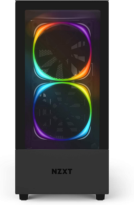 Nzxt H510 Elite Premium Atx Mid Tower Gehäuse Für Computer Zubehör