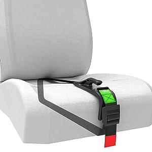 Hikig Pregnancy Seat Belt, Car Seat Belt Adjuster for Pregnant Moms, Comfort & Safety for Pregnant Moms Belly, Protect Unborn Baby, a Must-Have for Expectant Mothers (Black)