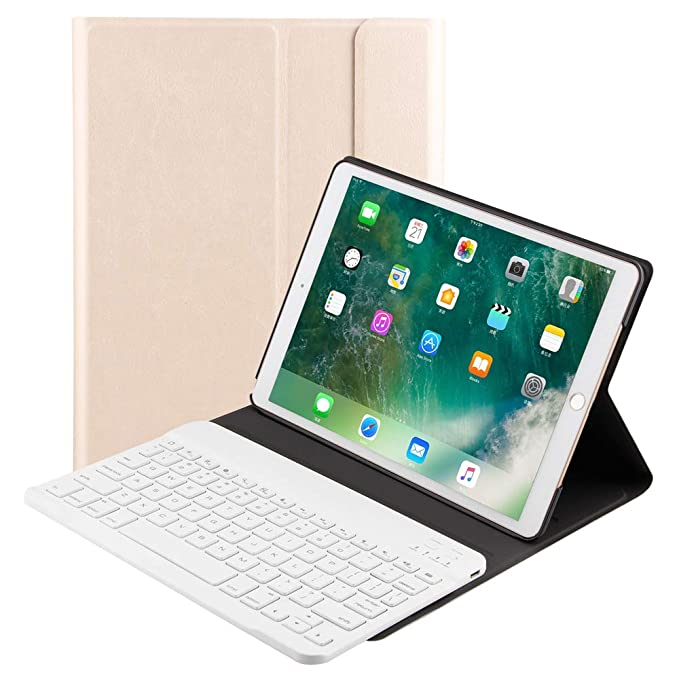 6eebabfb724 Smart Keyboard Case Compatible Apple iPad Pro 10.5 Inch Tablet Slim Durable  Leather Folio with Magnetic