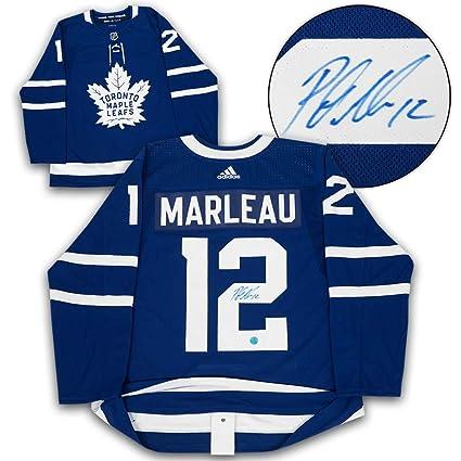 quality design 8d9d4 37d5b Patrick Marleau Toronto Maple Leafs Autographed Adidas ...