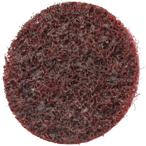 Scotch-Brite 07481 Roloc 2'' x No Hole Aluminum Oxide Medium Grade Surface Conditioning Disc by 3M (Image #1)