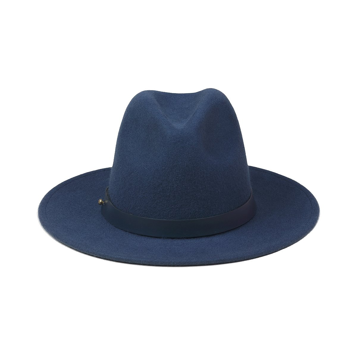 Lack of Color Women's Midnight Mack Classic Luxe Fedora (Navy, Medium (57cm)) by Lack of Color (Image #2)