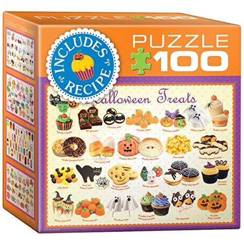 EuroGraphics Halloween Treats Mini Puzzle (100 (100 Halloween Floors)