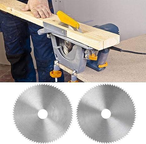 Diametro 100 mm Disco da Taglio per la Lavorazione del Legno Pennyninis Lama per Sega Circolare Ultra Sottile in Acciaio Diametro Foro 16//20 mm