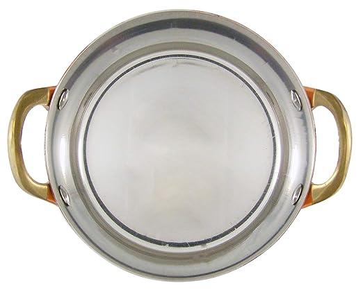 Amazon.com: Mini sartenes de acero inoxidable chapadas en ...